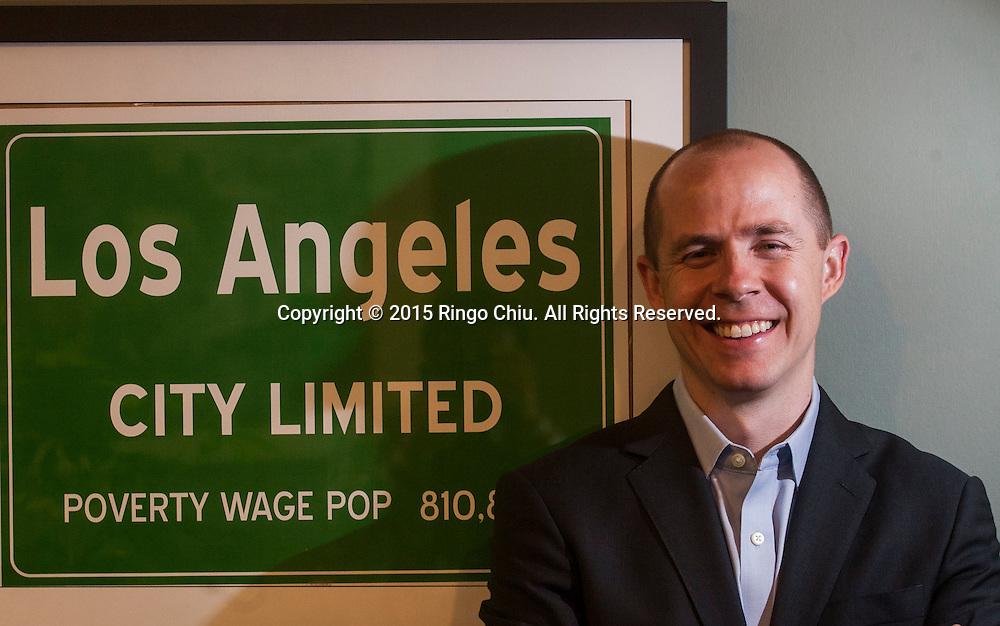 Rusty Hicks, the new Executive Secretary-Treasurer of the Los Angeles County Federation of Labor.(Photo by Ringo Chiu/PHOTOFORMULA.com)