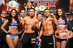 October 16, 2015: Gennady Golovkin vs David Lemieux Weigh-In