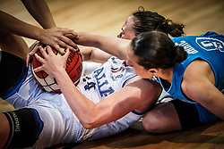 Martina Crippa of Italy vs Nika Baric of Slovenia during basketball match between Women National teams of Italy and Slovenia in Group phase of Women's Eurobasket 2019, on June 30, 2019 in Sports Center Cair, Nis, Serbia. Photo by Vid Ponikvar / Sportida