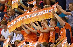 20150613 NED: World League Nederland - Finland, Almere<br /> Oranje support publiek