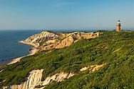 Massachusetts, Martha's Vineyard, Gay Head Lighthouse, Aquinnah Cliffs
