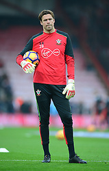 Stuart Taylor of Southampton  - Mandatory by-line: Alex James/JMP - 18/12/2016 - FOOTBALL - Vitality Stadium - Bournemouth, England - Bournemouth v Southampton - Premier League