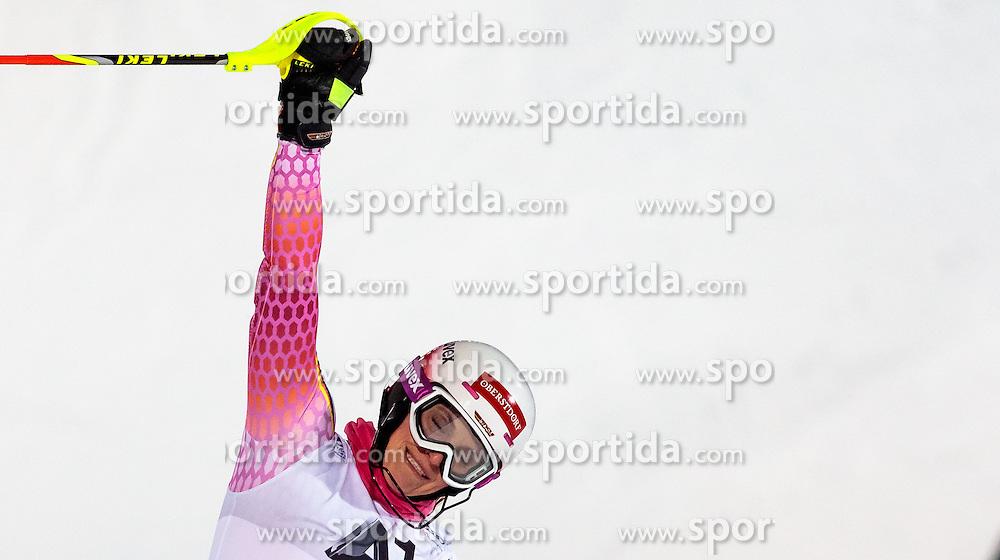 10.01.2017, Hermann Maier Weltcupstrecke, Flachau, AUT, FIS Weltcup Ski Alpin, Flachau, Slalom, Damen, 2. Lauf, im Bild Christina Geiger (GER) // Christina Geiger of Germany reacts after her 2nd run of ladie's Slalom of FIS ski alpine world cup at the Hermann Maier Weltcupstrecke in Flachau, Austria on 2017/01/10. EXPA Pictures © 2017, PhotoCredit: EXPA/ Johann Groder