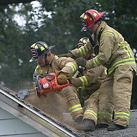 Multi-Agency Fire training in Verona<br />