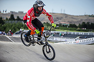 Men Elite #140 (THERKELSEN Jimmi) DEN the 2018 UCI BMX World Championships in Baku, Azerbaijan.