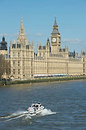 Houses of Parliament on the River Thames