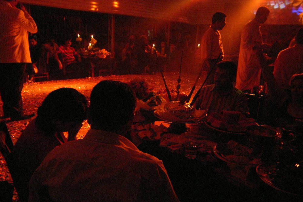 A prostitution club in Damascus, Syria. With no permission to work many iraqi refugees turn to prostitution to find a way of living. .(full text upon request).