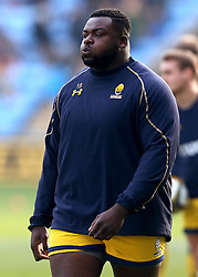 Biyi Alo of Worcester Warriors - Mandatory by-line: Robbie Stephenson/JMP - 13/11/2016 - RUGBY - Ricoh Arena - Coventry, England - Wasps v Worcester Warriors  - Anglo Welsh Cup