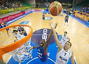 DESCRIZIONE : Lubiana Ljubliana Slovenia Eurobasket Men 2013 Preliminary Round Belgio Francia Belgium France<br /> GIOCATORE : Florent Pietrus<br /> CATEGORIA : rimabzlo rebound special<br /> SQUADRA : Francia France<br /> EVENTO : Eurobasket Men 2013<br /> GARA : Belgio Francia Belgium France<br /> DATA : 09/09/2013 <br /> SPORT : Pallacanestro <br /> AUTORE : Agenzia Ciamillo-Castoria/T.Wiedensohler<br /> Galleria : Eurobasket Men 2013<br /> Fotonotizia : Lubiana Ljubliana Slovenia Eurobasket Men 2013 Preliminary Round Belgio Francia Belgium France<br /> Predefinita :