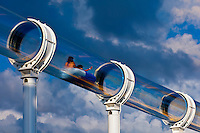 "AquaDuck water slide, aboard the cruise ship ""Disney Dream"", Disney Cruise Line, sailing from Florida to the Bahamas"