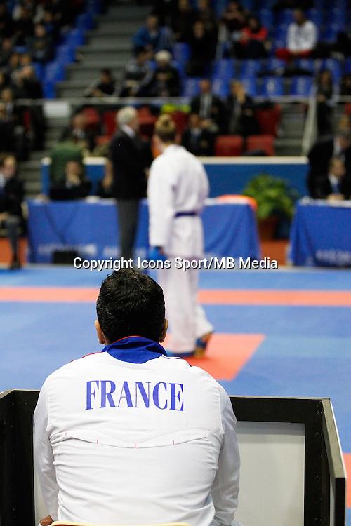 Illustration Entraineur Karate - Alizee AGIER - 24.01.2015 - Open de Paris - Karate Premier League -<br />Photo : Johnny Fidelin / Icon Sport
