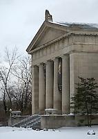 Snowy Cincinnati Art Museum