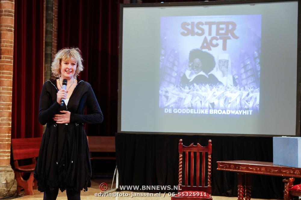 NLD/Amsterdam/20130123 - Perspresentatie musical Sister Act, regisseuse Carline Brouwer