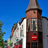 Costa Coffee Shop in Cork, Ireland<br />