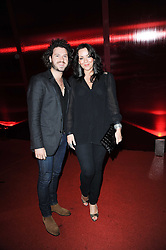 Martine McCutcheon & Jack McManus at the MontBlanc John Lennon Launch, The Serpentine Gallery, Kensington Gardens, London on 14th September 2010.
