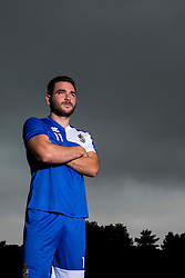 Jake Gosling poses for a portrait as Bristol Rovers return to training ahead of their 2015/16 Sky Bet League Two campaign - Photo mandatory by-line: Dougie Allward/JMP - 07966 386802 - 02/07/2015 - SPORT - Football - Bristol, England - The Lawns Training Ground, Henbury - Sky Bet League Two.