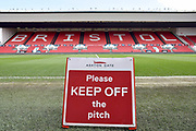 General view inside stadium during the EFL Sky Bet Championship match between Bristol City and Leeds United at Ashton Gate, Bristol, England on 9 March 2019.