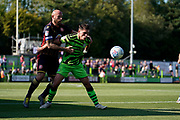 Mathew Stevens of Forest Green Rovers during the EFL Sky Bet League 2 match between Forest Green Rovers and Stevenage at the New Lawn, Forest Green, United Kingdom on 21 September 2019.