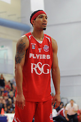 Bristol Flyers' Greg Streete - Photo mandatory by-line: Dougie Allward/JMP - Mobile: 07966 386802 - 18/10/2014 - SPORT - Basketball - Bristol - SGS Wise Campus - Bristol Flyers v Durham Wildcats - British Basketball League