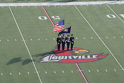 Fort Campbell hosted Newport Catholic in the Class 2A KHSAA Commonwealth Gridiron Bowl on Saturday, Dec. 13, 2008, at Papa John's Cardinal Stadium in Louisville, Ky.(photo by Jonathan Palmer)