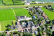 Nederland, Noord-Holland, Gemeente Zeevang, 05-08-2014; het dorp Warder aan het Markermeer.<br /> luchtfoto (toeslag op standard tarieven);<br /> aerial photo (additional fee required);<br /> copyright foto/photo Siebe Swart