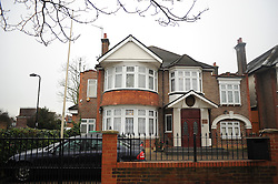© Licensed to London News Pictures. 19/12/2011, London, UK. The North Korean embassy is a semi detached house in West London. Kim Jong Il's death on Saturday, aged 69, was announced last night in a special broadcast by state TV from the North Korean capital. Photo credit: Stephen Simpson/LNP