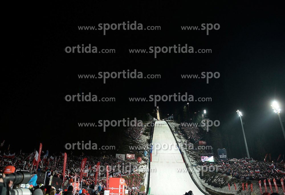 17.01.2015, Wielka Krokiew, Zakopane, POL, FIS Weltcup Ski Sprung, Zakopane, Herren, Teamspringen, im Bild Skocznia w Zakopanem // during mens Large Hill Team competition of FIS Ski Jumping world cup at the Wielka Krokiew in Zakopane, Poland on 2015/01/17. EXPA Pictures &copy; 2015, PhotoCredit: EXPA/ Newspix/ Irek Dorozanski<br /> <br /> *****ATTENTION - for AUT, SLO, CRO, SRB, BIH, MAZ, TUR, SUI, SWE only*****