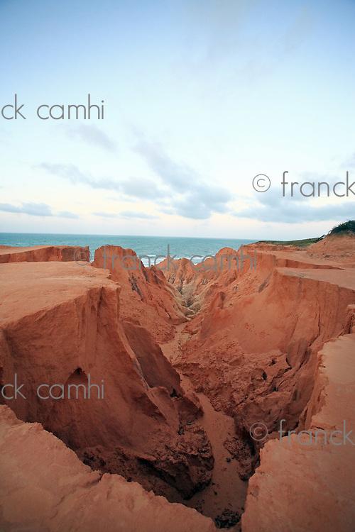 the Labyrinth between morro branco and beberibe near fortaleza ceara state brazil