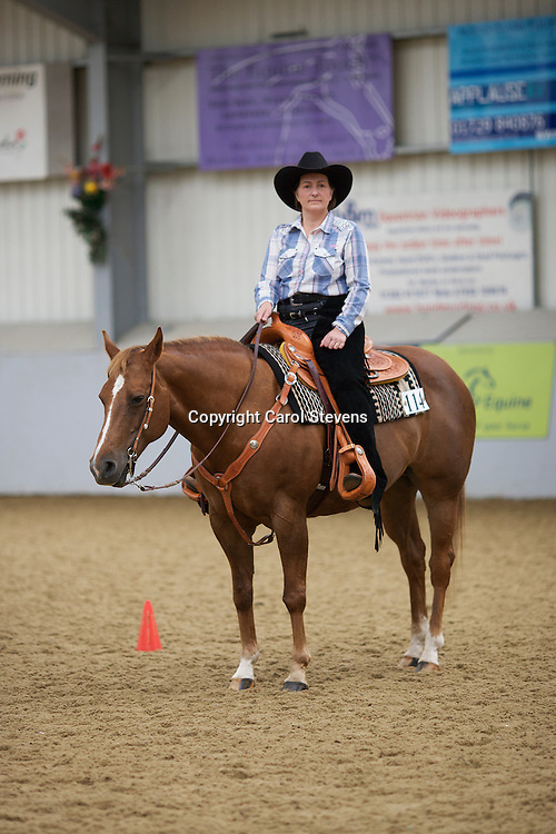 WES Northern Show 2012<br /> Myerscough College, Preston, Lancashire<br /> Fiona Weatherston and Skipkas Lucky Lady