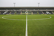 The New Lawn, home of Forest Green Rovers during the Vanarama National League match between Forest Green Rovers and Dover Athletic at the New Lawn, Forest Green, United Kingdom on 17 December 2016. Photo by Shane Healey.