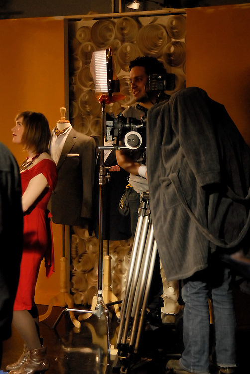 Behind the scenes stills of the filming of His Uterus, Her Lover, directed by Claire Leona Apps.<br />