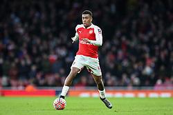 Alex Iwobi of Arsenal in action - Mandatory byline: Jason Brown/JMP - 07966386802 - 09/01/2016 - FOOTBALL - Emirates Stadium - London, England - Arsenal v Sunderland - The Emirates FA Cup