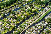 Nederland, Noord-Holland, Loosdrecht,  29-06-2018; recreatiepark de Boomhoek, gelegen tussen Loosdrechtse Plassen, Beukelveensche of Stille Plas.<br /> <br /> luchtfoto (toeslag op standard tarieven);<br /> aerial photo (additional fee required);<br /> copyright foto/photo Siebe Swart