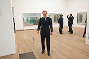 SIMON DE PURY, Damien Hirst, Tate Modern: dinner. 2 April 2012.