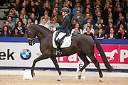 Charlotte Fry - George Clooney<br /> Finale Isah Hengstencompetitie 2015/2016<br /> KWPN Hengstenkeuring 2016<br /> © DigiShots