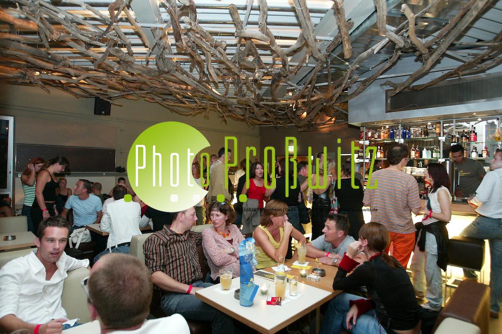 Mannheim. Musikpark. Er&ouml;ffnung neuer Loungegastronomie &quot;Strandgut&quot;<br /> <br /> Bild: Markus Pro&szlig;witz