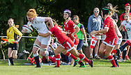 Catherine O'Donnell in action, U20 England Women v U20 Canada Women at Trent College, Derby Road, Long Eaton, England, on 26th August 2016