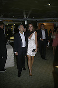 JIM LE HOOD AND IRINA SOCOLAVA, Beyond Belief-Damien Hirst. White Cube Hoxton and Mason's Yard.Party  afterwards at the Dorchester. Park Lane. 2 June 2007.  -DO NOT ARCHIVE-© Copyright Photograph by Dafydd Jones. 248 Clapham Rd. London SW9 0PZ. Tel 0207 820 0771. www.dafjones.com.