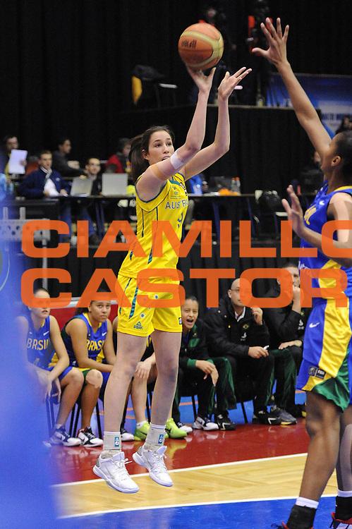 DESCRIZIONE : Chile Cile U19 Women World Championship 2011 Australia Brazil Brasile<br /> GIOCATORE : Rebecca Allen<br /> SQUADRA : Australia<br /> EVENTO : Chile Cile U19 Women World Championship 2011 <br /> GARA : Australia Brazil Brasile<br /> DATA : 31/07/2011<br /> CATEGORIA : tiro<br /> SPORT : Pallacanestro <br /> AUTORE : Agenzia Ciamillo-Castoria/C.De Massis<br /> Galleria : Fiba U19 World Championship Women Chile 2011<br /> Fotonotizia : Chile Cile U19 Women World Championship 2011 Australia Brazil Brasile<br /> Predefinita :