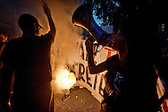 Roma 4 Settembre  2015<br /> Manifestazione dei movimenti per il diritto all'abitare al quartiere San Lorenzo,contro gli sgomberi delle case occupate e gli sfratti.<br /> Rome, 4 September 2015<br /> Demonstration of the movements for housing rights, in the San Lorenzo district, against evictions of occupied houses and evictions.
