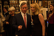 ROBBIE RAYNES; ; VICKY WARD;  Book party for 'The Liar's Ball' by Vicky Ward hosted by  Sir Evelyn  de Rothschild at Henry Sotheran's, 2 Sackville Street London. 25 November 2014