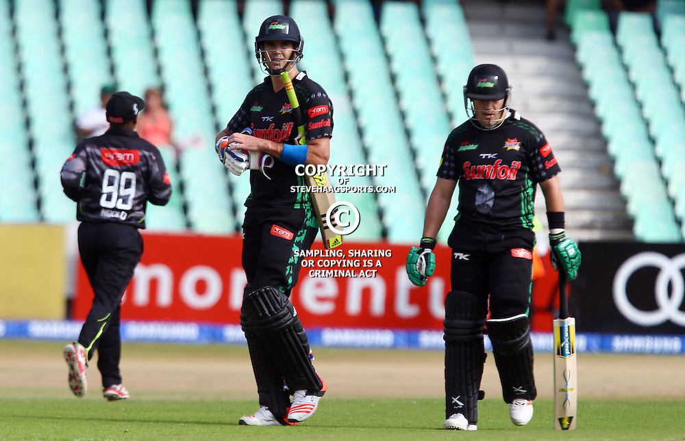 Durban South Africa - November 8: Kevin Pietersen of the Sunfoil Dolphins during the RAM Slam T20 match between Sunfoil Dolphins and The Warriors,Sunday November 8th,Sahara Stadium Kingsmead (Photo by Steve Haag)images for social media must have consent from Steve Haag