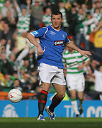 Rangers' Lee McCulloch during the League Cup final between Rangers and Celtic at Hampden Park -<br /> David Young Universal News And Sport