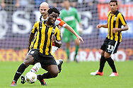 Onderwerp/Subject: Willem II - Vitesse - Eredivisie<br /> Reklame:  <br /> Club/Team/Country: <br /> Seizoen/Season: 2012<br /> FOTO/PHOTO: Hans MULDER (BEHIND) of Willem II in duel with Wilfried BONY ( Wilfried Guemiand BONY ) (FRONT) of Vitesse. (Photo by PICS UNITED)<br /> <br /> Trefwoorden/Keywords: <br /> #04 $94 ±1341400688360<br /> Photo- & Copyrights © PICS UNITED <br /> P.O. Box 7164 - 5605 BE  EINDHOVEN (THE NETHERLANDS) <br /> Phone +31 (0)40 296 28 00 <br /> Fax +31 (0) 40 248 47 43 <br /> http://www.pics-united.com <br /> e-mail : sales@pics-united.com (If you would like to raise any issues regarding any aspects of products / service of PICS UNITED) or <br /> e-mail : sales@pics-united.com   <br /> <br /> ATTENTIE: <br /> Publicatie ook bij aanbieding door derden is slechts toegestaan na verkregen toestemming van Pics United. <br /> VOLLEDIGE NAAMSVERMELDING IS VERPLICHT! (© PICS UNITED/Naam Fotograaf, zie veld 4 van de bestandsinfo 'credits') <br /> ATTENTION:  <br /> © Pics United. Reproduction/publication of this photo by any parties is only permitted after authorisation is sought and obtained from  PICS UNITED- THE NETHERLANDS