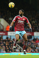 Alexandre Song of West Ham United during the Barclays Premier League match at the Boleyn Ground, London<br /> Picture by Richard Calver/Focus Images Ltd +447792 981244<br /> 07/12/2014