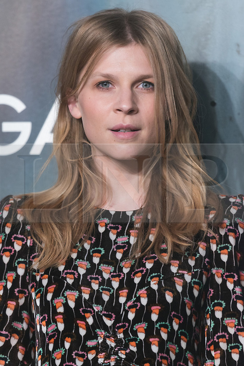 © Licensed to London News Pictures. 26/04/2017. London. CLEMENCE POESY attends the Omega party celebrating 60 Years of the Speedmaster watch. Photo credit: Ray Tang/LNP