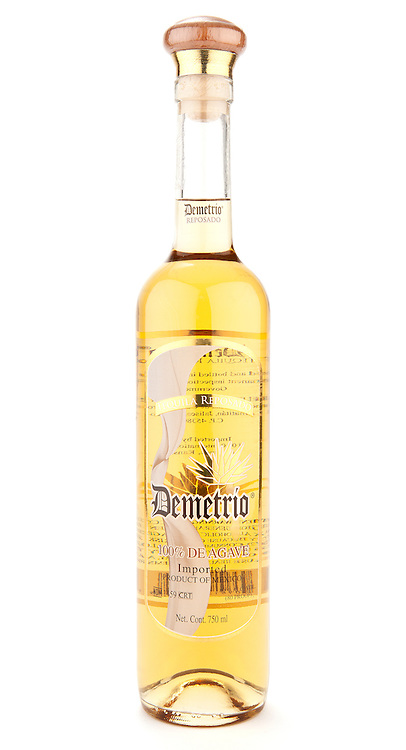 Demetrio Tequila Reposado -- Image originally appeared in the Tequila Matchmaker: http://tequilamatchmaker.com