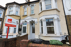 One of the alleged addresses, 87 Fanshawe Avenue in Barking, East London, of Shakir Ali and Shahida Aslam who were caught by surprise by their landlord and filmed by Channel 5 for 'Can&rsquo;t Pay? We&rsquo;ll Take It Away' and subsequently sued Channel 5 claiming they had a reasonable expectation of privacy, and won despite C5's public interest defence.<br /> Barking, London, February 23 2018.