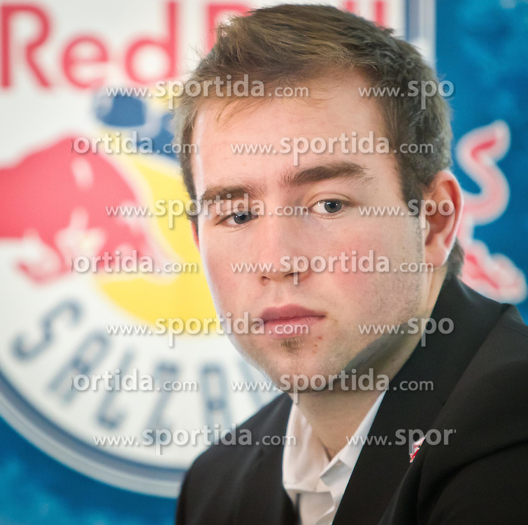 02.08.2011, Volksgarten, Salzburg, AUT, EBEL, EC Red Bull Salzburg, Season Opening, Media Briefing, im Bild Ryan Kavanagh, EC Red Bull Salzburg // during the EC Red Bull Salzburg, Season Opening, Media Briefing, at the Icehockeyarena Volksgarten, Salzburg, Austria on 2011/08/02, EXPA Pictures © 2011, PhotoCredit: EXPA/ J. Feichter