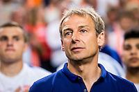 AMSTERDAM - Nederland - USA , Amsterdam ArenA , Voetbal , oefeninterland , 05-06-2015 ,  Bondscoach van de Verenigde staten Jurgen Klinsmann